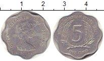 Изображение Барахолка Карибы 5 центов 1981 Алюминий XF