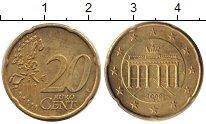 Изображение Дешевые монеты Германия 20 евроцентов 2002 Бронза XF