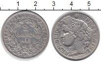Изображение Монеты Франция 2 франка 1887 Серебро XF-