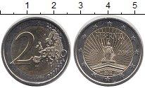 Изображение Монеты Ирландия 2 евро 2016 Биметалл UNC- 100 лет Пасхального