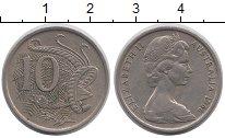 Изображение Монеты Австралия 10 центов 1966 Медно-никель XF
