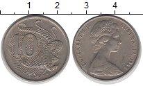 Изображение Монеты Австралия 10 центов 1968 Медно-никель XF