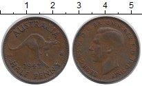 Изображение Монеты Австралия 1/2 пенни 1943 Бронза VF