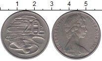 Изображение Монеты Австралия 20 центов 1966 Медно-никель XF