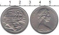 Изображение Монеты Австралия 20 центов 1970 Медно-никель XF