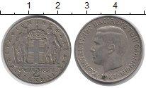 Изображение Монеты Греция 2 драхмы 1967 Медно-никель XF