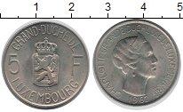 Изображение Монеты Люксембург 5 франков 1962 Медно-никель UNC-