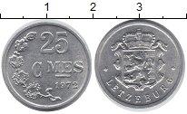 Изображение Монеты Люксембург 25 сантим 1972 Алюминий UNC-