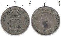 Изображение Монеты Великобритания 6 пенсов 1940 Серебро XF-