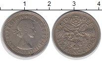 Изображение Монеты Великобритания 6 пенсов 1963 Медно-никель XF