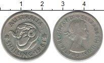 Изображение Монеты Австралия 1 шиллинг 1961 Серебро XF-