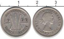 Изображение Монеты Австралия 3 пенса 1956 Серебро XF