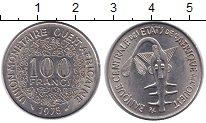 Изображение Монеты Западно-Африканский Союз 100 франков 1975 Медно-никель UNC-