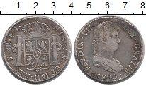 Изображение Монеты Боливия 8 реалов 1820 Серебро VF+