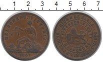 Изображение Монеты Австралия 1 пенни 1857 Медь XF-