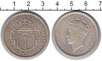 Изображение Монеты Родезия 1/2 кроны 1937 Серебро XF- Георг VI