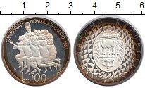 Изображение Монеты Сан-Марино 500 лир 1990 Серебро Proof-