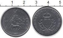 Изображение Монеты Сан-Марино 50 лир 1987 Сталь UNC-