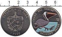 Изображение Монеты Куба 1 песо 1994 Медно-никель UNC Цветная монета. Фаун