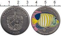 Изображение Монеты Куба 1 песо 2005 Медно-никель XF