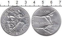 Изображение Монеты Финляндия 100 марок 1997 Серебро UNC