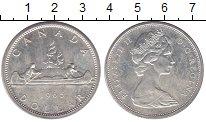 Изображение Монеты Канада 1 доллар 1965 Серебро XF