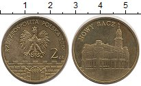 Изображение Монеты Польша 2 злотых 2006 Латунь UNC- Старинные города Пол