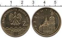 Изображение Монеты Польша 2 злотых 2007 Латунь UNC-