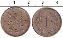 Изображение Монеты Финляндия 1 марка 1938 Медно-никель XF