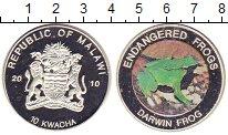 Изображение Монеты Малави 10 квач 2010 Посеребрение Proof