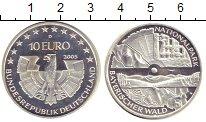 Изображение Монеты ФРГ 10 евро 2005 Серебро Proof- `Национальный парк `