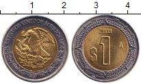 Изображение Монеты Мексика 1 песо 2009 Биметалл UNC-