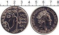 Изображение Монеты Великобритания 5 фунтов 2017 Медно-никель UNC