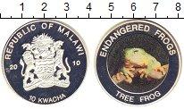 Изображение Мелочь Малави 10 квач 2010 Посеребрение Proof-