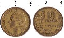 Изображение Барахолка Франция 10 франков 1961 Латунь VF+