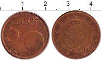 Изображение Дешевые монеты Бельгия 5 евроцентов 2004 Медь VF