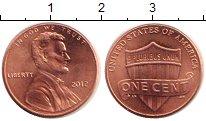 Изображение Барахолка США 1 цент 2012 Медь XF+