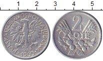 Изображение Барахолка Польша 2 злотых 1960 Алюминий XF
