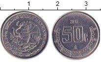 Изображение Барахолка Мексика 50 сентаво 2015 Железо XF