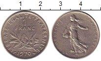 Изображение Дешевые монеты Франция 1 франк 1970 Медно-никель XF-