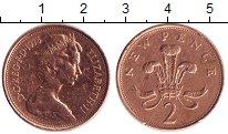 Изображение Дешевые монеты Великобритания 2 пенса 1975 Медь XF-