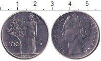 Изображение Дешевые монеты Италия 100 лир 1978 нержавеющая сталь XF-