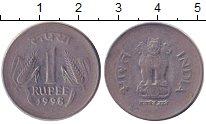 Изображение Дешевые монеты Индия 1 рупия 1998 Медно-никель