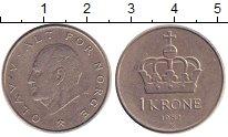 Изображение Дешевые монеты Норвегия 1 крона 1982 Медно-никель XF