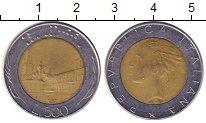 Изображение Дешевые монеты Италия 500 лир 1987 Биметалл XF-
