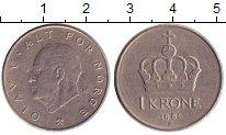 Изображение Дешевые монеты Норвегия 1 крона 1981 Никель XF