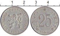 Изображение Барахолка Чехословакия 25 хеллеров 1953 Алюминий XF