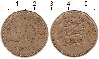 Изображение Монеты Эстония 50 сенти 1936 Медно-никель VF