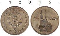 Изображение Монеты ГДР 5 марок 1989 Медно-никель XF