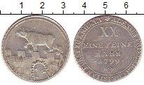 Изображение Монеты Германия Анхальт 2/3 талера 1799 Серебро XF